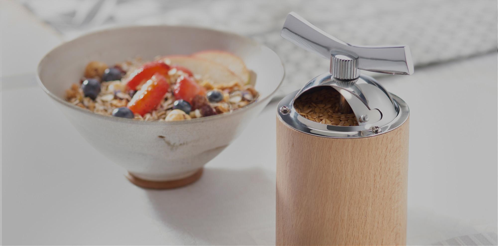 Le moulin graines de lin peugeot saveurs - Moulin graines de lin cuisine ...