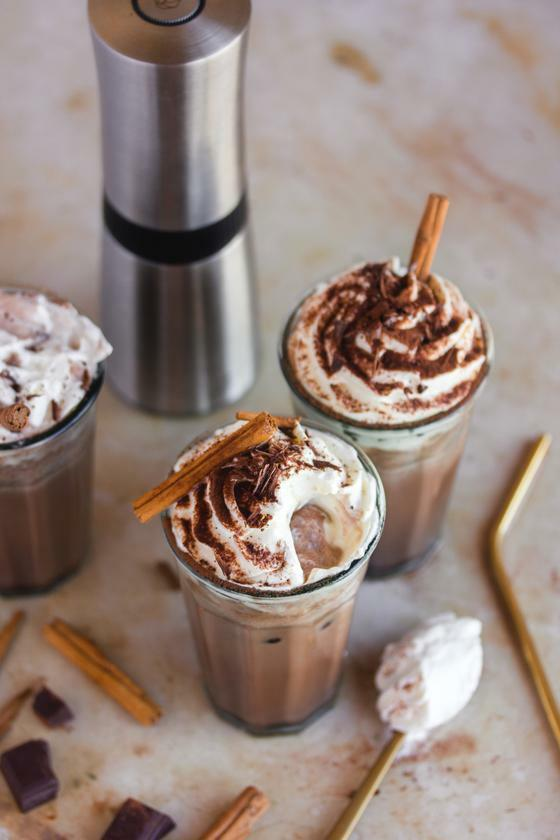 The best Cinnamon Iced Chocolate Recipe - Peugeot Saveurs